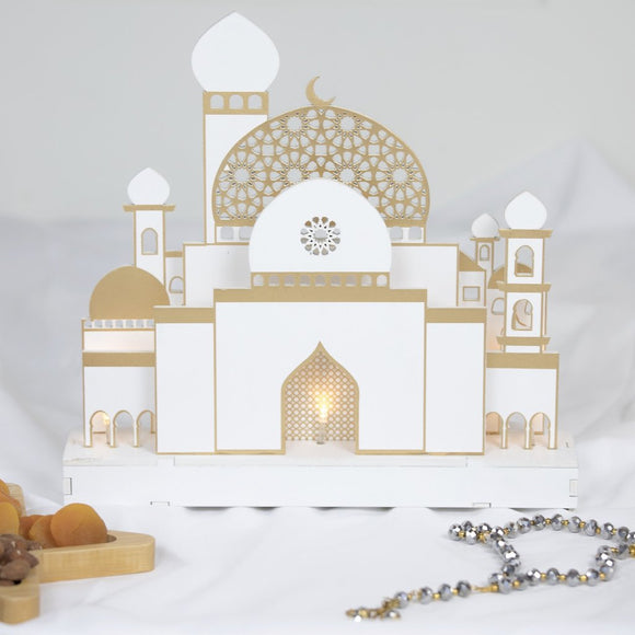 Barakahville Masjid Decorative Light white