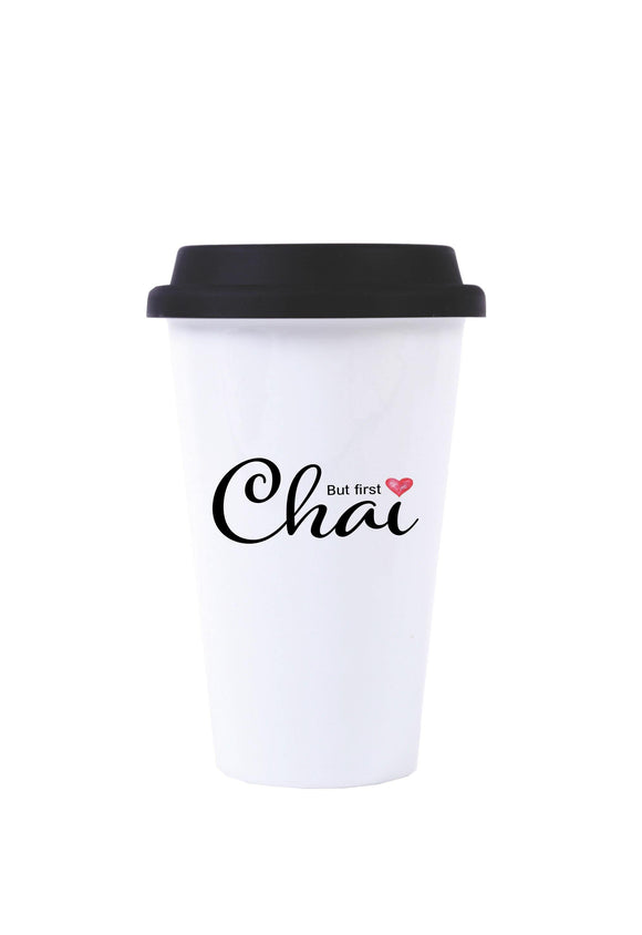 But First Chai - Travel Mug