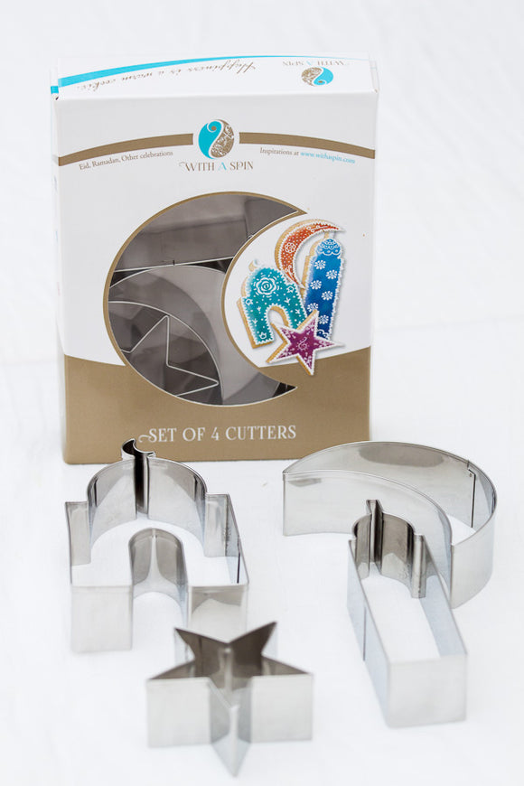 Islamic Shape Cookie Cutters