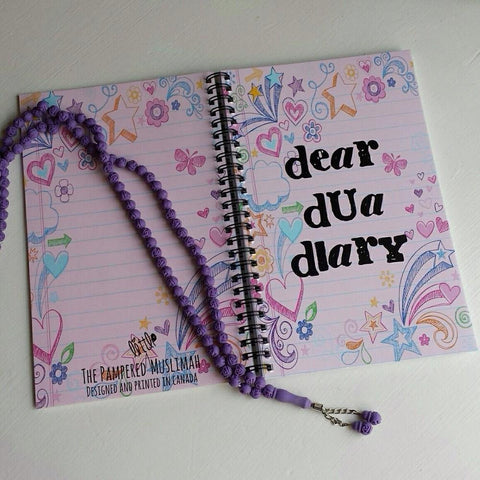 Dear Dua Diary Notebook