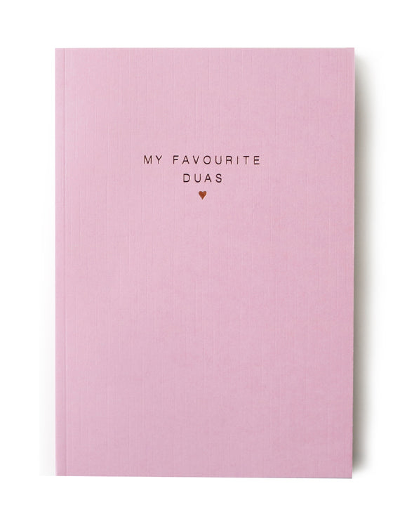 Luxury My Favourite Duas Notebook