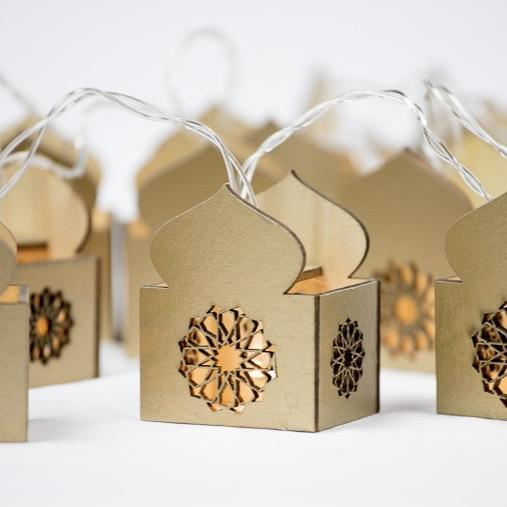 Masjid String Lights - Gold - Silver Lining UK