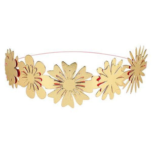 Flower Party Headbands (pk of 8)