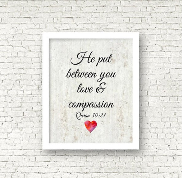 Love and compassion