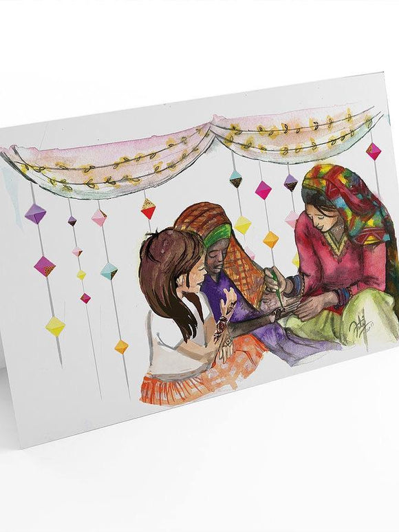Chand Raat Eid Greeting Card