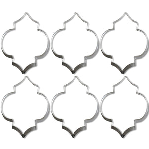 Fez Lantern Shaped Cookie Cutters /6pk