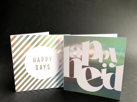 Ombre Magic Happy Eid Greeting Card Pack