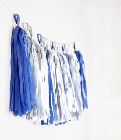 Tassel Garland - Blue