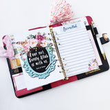 Muslimah Life Planner - Today is...awesome!