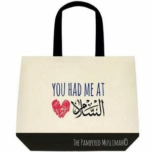 You had me at Salaam, Tote bag.