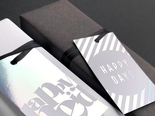 Ombre Magic Happy Eid Gift Tags