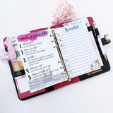 Planner Binder Only - Today is...awesome!