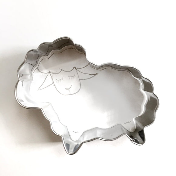 Lamb Shaped Cookie Cutter