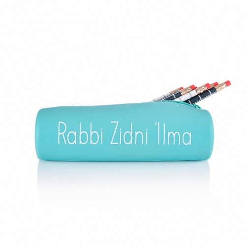 Rabbi Zidni 'Ilma Pencil Case - Aqua
