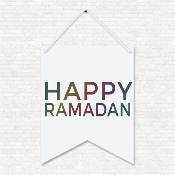 Happy Ramadan Wall Art Hanging