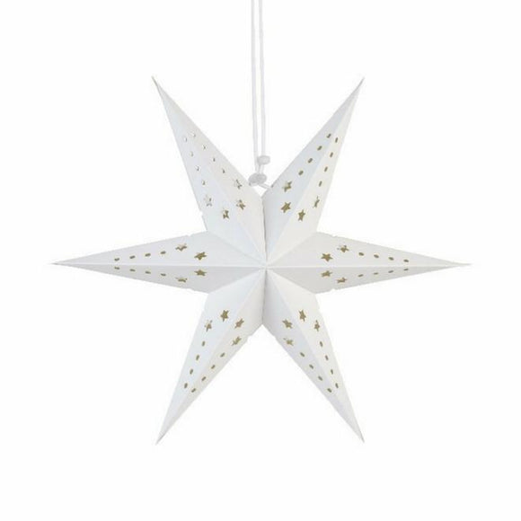 Small Star Lantern White