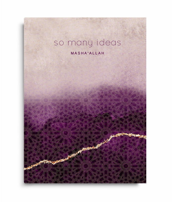 So Many Ideas - Notebook