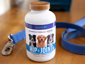 WagWorthy Naturals Advanced Formula Hip + Joint Supplement for Dogs (3 Bottle Special - $22.42 per bottle)
