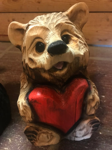 Heart Bear (natural)