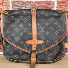 Load image into Gallery viewer, Louis Vuitton Monogram Saumur 30