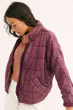 Load image into Gallery viewer, Free People Dolman Quilted Knit Jacket