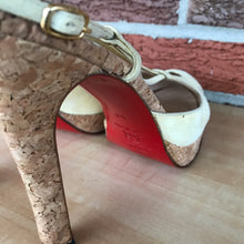 Load image into Gallery viewer, ON SALE- Christian Louboutin Red Bottom Suede Cutout Pumps size 9.5/10