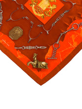 Load image into Gallery viewer, HERMES 70cm Silk Scarf