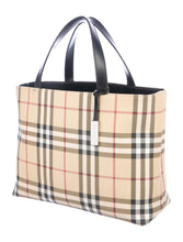 Load image into Gallery viewer, Burberry London Nova Check Tote Bag