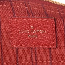 Load image into Gallery viewer, Louis Vuitton Red Empreinte Speedy 25 Bandouliere