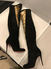 Load image into Gallery viewer, Christian Louboutin Siegfridalta  Over The Knee Suede Boots