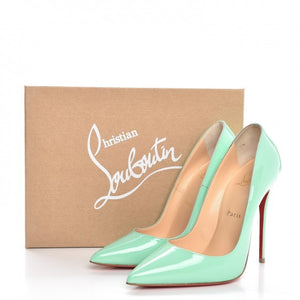 Christian Louboutin Patent So Kate 120 Pumps size 37