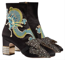 Load image into Gallery viewer, Gucci Candy Dragon Ankle Boots size 38