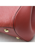 Load image into Gallery viewer, 2016 Red Louis Vuitton Empreinte Montaigne MM