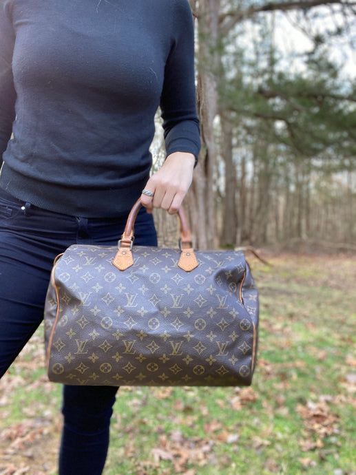 DEAL OF THE DAY!Louis Vuitton Monogram Speedy 35