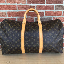 Load image into Gallery viewer, ON SALE Louis Vuitton Monogram Keepall 50