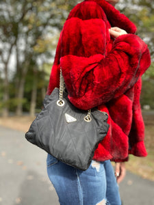 Rex Rabbit Fur Coat Authentic