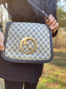 Gucci GG Vintage Shoulder Bag