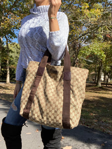 Gucci GG Canvas Original Large Tote