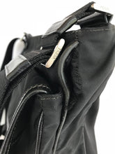 Load image into Gallery viewer, Prada Tessuto Black Nylon Messenger Bag