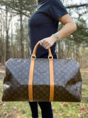 Louis Vuitton Monogram Keepall 50 Duffle Travel