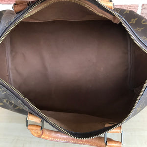Louis Vuitton Speedy 35 Satchel Bag
