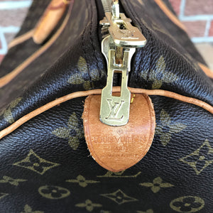 ON SALE- Louis Vuitton Monogram Keepall 60 Travel Carry On