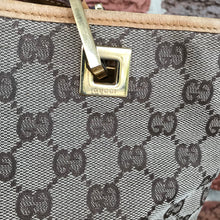 Load image into Gallery viewer, Gucci Small GG Canvas Bucket Tote