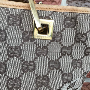 Gucci Small GG Canvas Bucket Tote