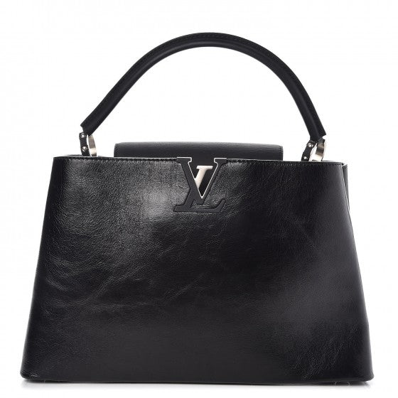 Louis Vuitton Taurillon Capucines MM