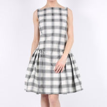 Load image into Gallery viewer, Vivienne Westwood Anglomania Plaid Flare Dress