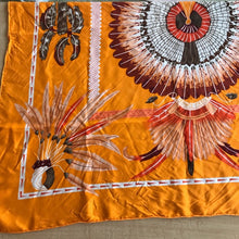Load image into Gallery viewer, Hermès Brazil Motif Silk Scarf 90cm