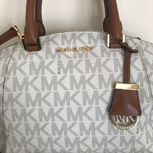 Michael Kors Riley Vanilla Satchel (small)
