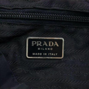 Prada Leather-Trimmed Tessuto Backpack