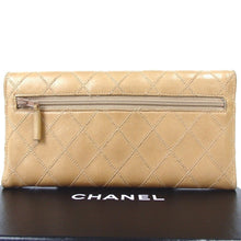 Load image into Gallery viewer, Chanel Bicolore Folded Wallet Ladies Leather Coco Mark
